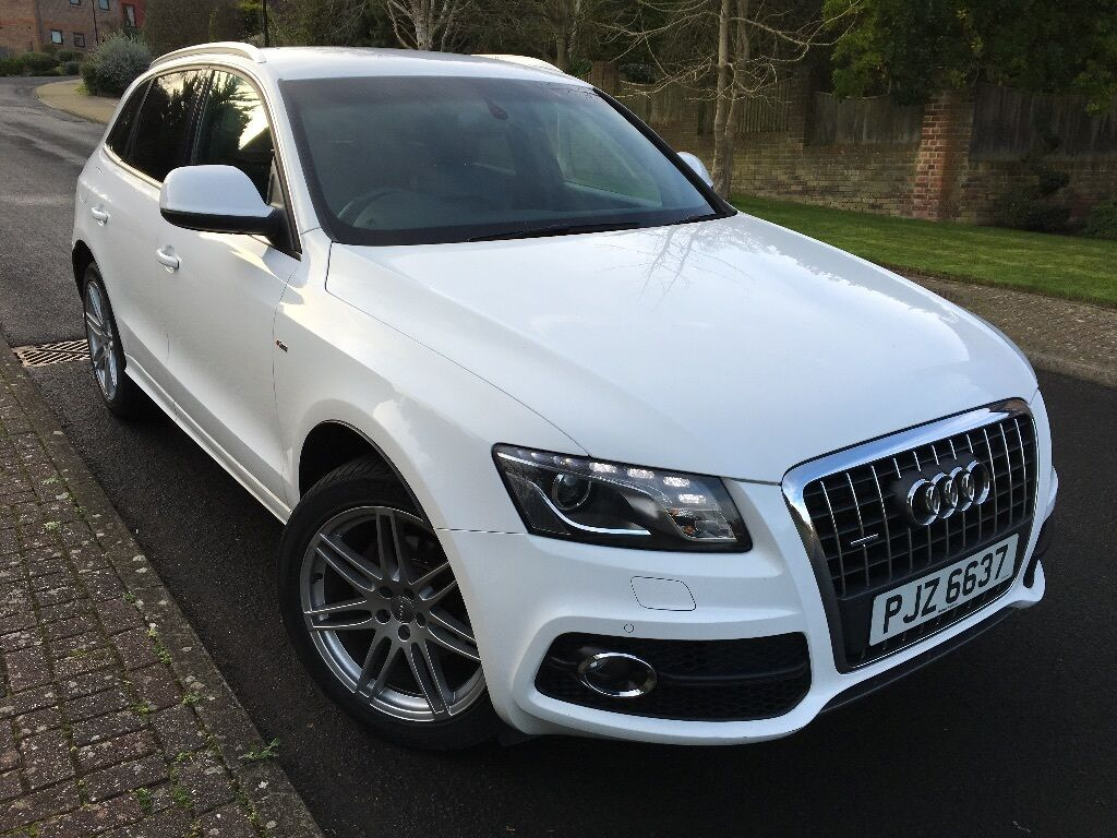 audi q5 s line special edition white auto 2 0 diesel in eastbourne east sussex gumtree. Black Bedroom Furniture Sets. Home Design Ideas