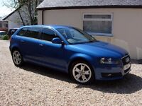 Audi A3 2.0 Tdi Sport Sportback (Stop Start) ** Offers around £6200 invited** No agencies please