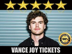 Discounted Vance Joy Tickets | Last Minute Delivery Guaranteed!