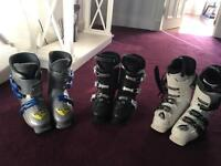 Ski boots - 2 pairs, 1 now sold £15 and £25