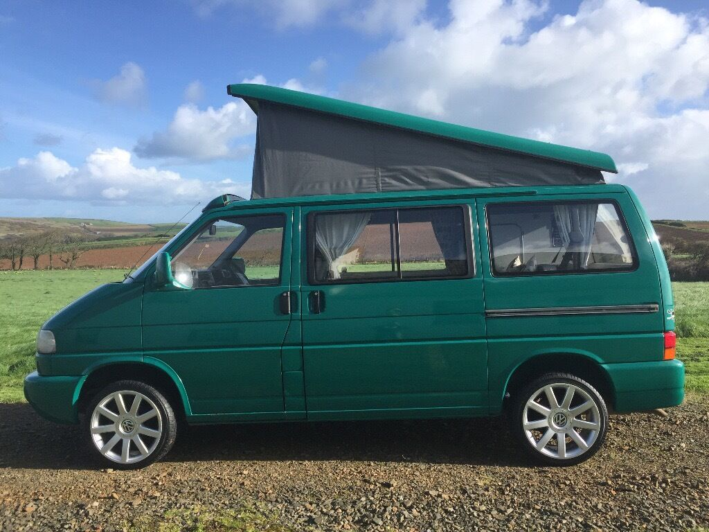 vw t4 caravelle camper 4 berth low mileage in hayle cornwall gumtree. Black Bedroom Furniture Sets. Home Design Ideas