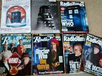 Doctor Who Radio Times x 7 - Mint Condition