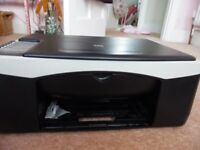 HP All-In-One printer/ copier/scanner. Excellent working order. Software and guide book included.