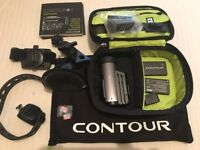HD Action camera Contour +2 Model 1700 plus GPS 1080 Bluetooth Helmet Cycle