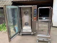 20 GRID COMBI STEAM OVEN CATERING COMMERCIAL KITCHEN PERI PERI CHICKEN FAST FOOD BAKERY OVEN