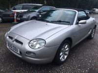2001 MG MGF 1.8 CONVERTIBLE, ROADSTER, LONG MOT, ONLY 68K, GOOD CONDITION, DRIVES WELL !!