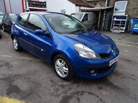 2007 Renault Clio 1.2 TCe 16v Dynamique 3dr ONE OWNER SERVICE HISTORY