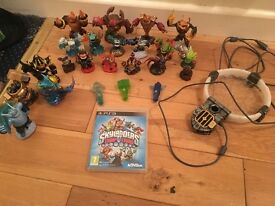 Sky lander giants and trap team PS3 figures and game