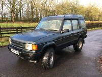 Land Rover Discovery. lots of work done