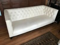 Real Leather Chesterfield Sofa Marks & Spencer