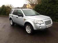 Very clean and reliable 07 plate, Land Rover, freelander,auto.
