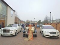 Wedding car hire, rolls royce hire, classic car hire, vintage car, limo hire, bentley hire
