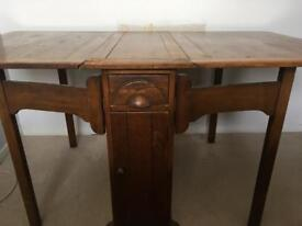 Victorian drop leaf table