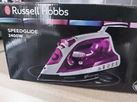 Russell hobbs iron and ironing board
