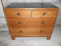 Sturdy Four Drawer Chest of Drawers