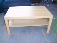NICE COFFE TABLE SANDY COLOR VERY STRONG VERY CLEAN CONDITION CAN DELIVERY FREE MANCHESTER