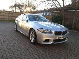 BMW 520d m sport 2012 auto , sat nav , no 525d , 530d ,