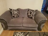 3 & 2 seater sofa's with storage foot stool