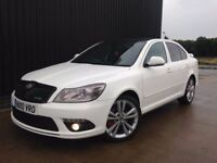 2010 Skoda Octavia 2.0 TDI CR vRS Full Service History,Huge Spec Full VRS Leather Finance Available