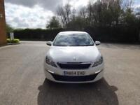 Peugeot 308 HDi Active 5dr (white) 2014