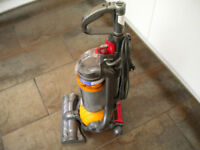 Dyson ball DC24 upright vacuum cleaner fully serviced and very powerful