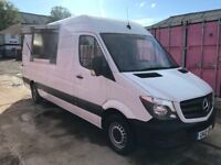 MERCEDES SPRINTER LWB 313CDI MOBILE CATERING, BURGER VAN ,2012REG FOR SALE
