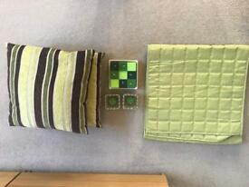 Lime green accessory bundle