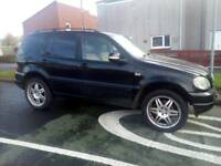 Mercedes ml430 v8 4x4 mot till Feb 2018
