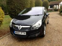 Vauxhall corsa automatic only 101000 miles fsh