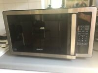 Kenwood K25MSS11 Solo Microwave - Black & Stainless Steel in excellent condition
