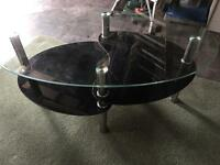 Glass coffee table ( pick up only) FREE