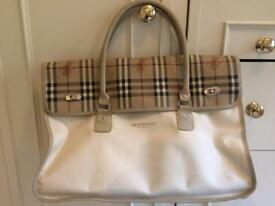 Burberry fragrance weekend bag