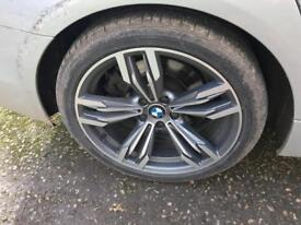 BMW 19 inch m5 alloys with tyres