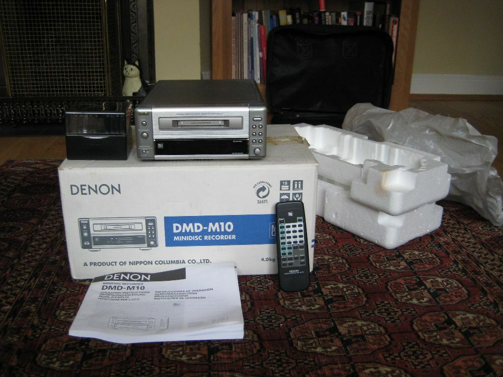 Denon Dmd M10 manual