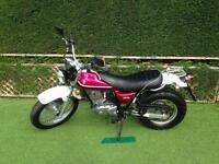 Suzuki van van 125 motor bike