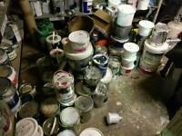 Emptying paint store today/tomorrow all paints £1-£5