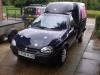 1996 Vauxhall Combo, Long MOT, Cambelt & Water Pump Replaced 3k Ago, Good Runner