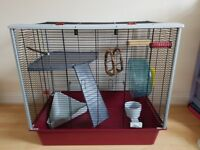 Rat cage & small carry or temporary cage - both in excellent & clean condition