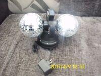 2 x disco balls
