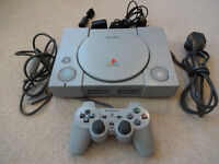 Sony PS1 - Playstation One - Games Console - SCPH- 5552