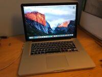 MacBook Pro 15' 2.3GHz i7 Intel Core 8GB Ram 500Gb HDD