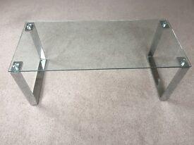 Glass Coffee Table L100cm