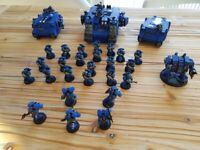 Warhammer 40k Space Marine and Grey Knights Collection