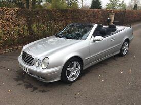 Mercedes CLK Convertible Automatic
