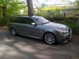 2009 BMW 5 SERIES E61 M Sport Touring Manual estate long mot