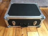 Flight case for turntable decks Technics 1200 1210