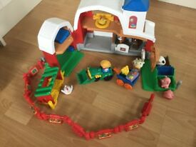 Fisher price little people farm farmer, tractor and animals