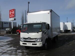 2017 Hino 195-149 Cab/Over and  18 ft.van body