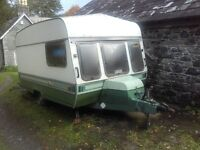 Vintage Caravan two berth (project)