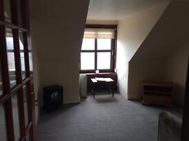 Arbroath, 1 bedroom attic studio flat ,Central